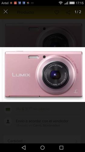 camara digital panasonic fh10 color rosado