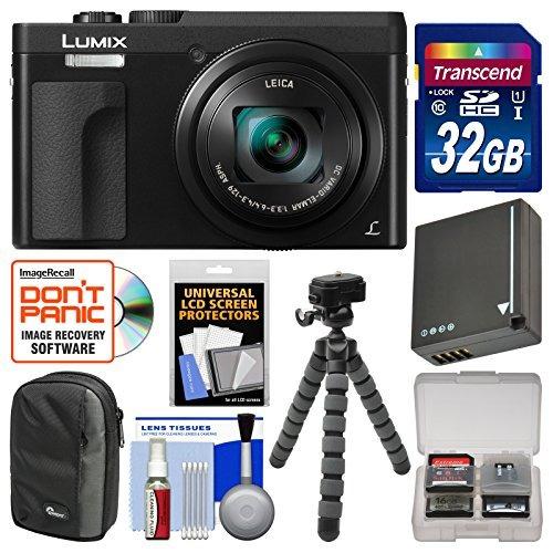 cámara digital panasonic lumix dc-zs70 4k wi-fi (negro w172