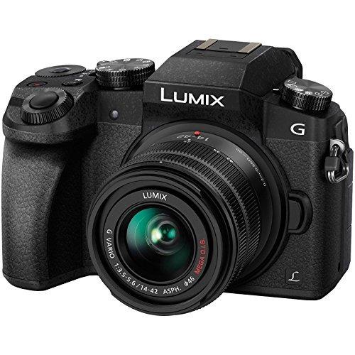 cámara digital panasonic lumix dmc-g7 4k wi-fi amplifi w101