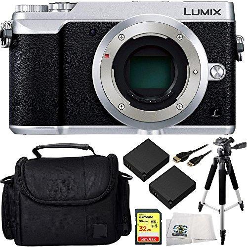 cámara digital panasonic lumix dmc-gx85 (plata) kit de w151