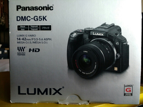 camara digital panasonic lumix g5