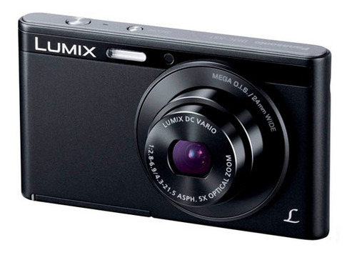 camara digital panasonic ultra slim 16.1mp hd 2.7  black