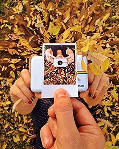 cámara digital polaroid instantánea