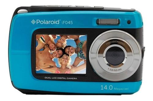 camara digital polaroid sumergible video hd 14mp doble lcd
