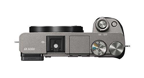 cámara digital réflex sin espejo sony alpha a6000 con cámara