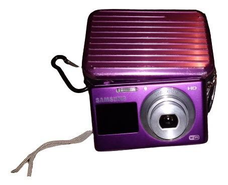 cámara digital samsung dv150f con su cargador y estuche