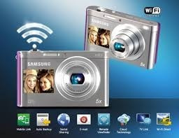 camara digital samsung dv300f 16mp/5x/dual lcd/hd/smart/wifi