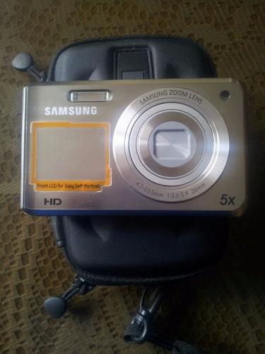 camara digital samsung dv90 16mp/5x/dual lcd/hd/smart