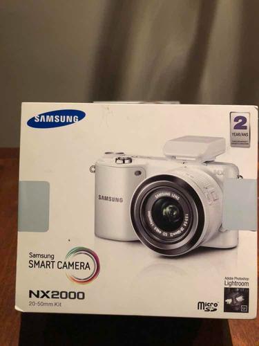 cámara digital samsung smart hd wifi nx2000-3d-nuevas 20.3mp