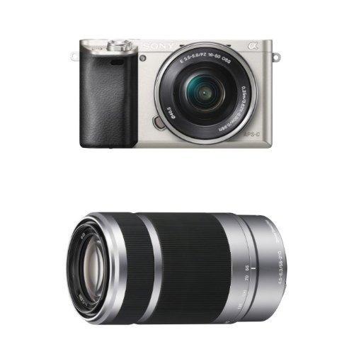 cámara digital sin espejo sony alpha a6000 c / lente de zoom