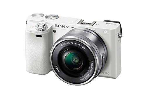 cámara digital sin espejo sony alpha a6000 con lente de 16-5