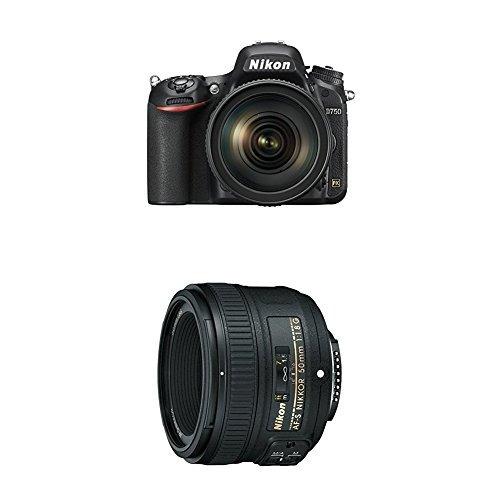 cámara digital slr nikon d750 con formato fx con 24-120 mm f