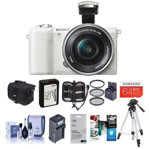 camara digital sony alpha a5100 mirrorless digital camera, w