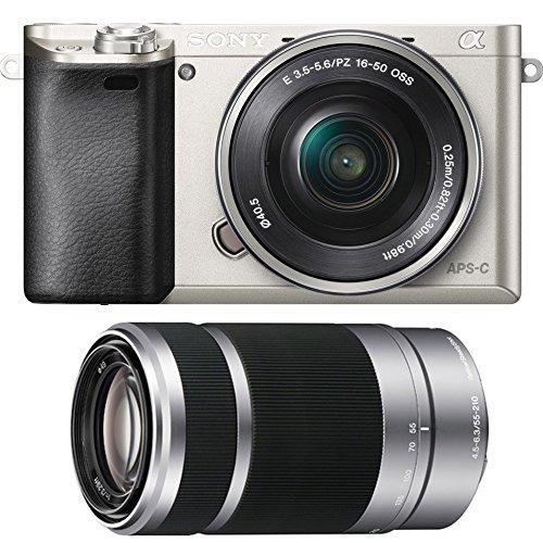 camara digital sony alpha a6000 24.3mp digital camera with 1