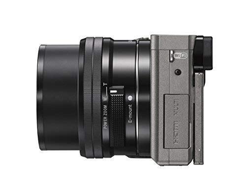 cámara digital sony alpha a6000 sin espejo con lente de 16-5