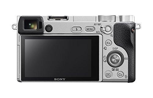 cámara digital sony alpha a6300 sin espejo de lentes interca