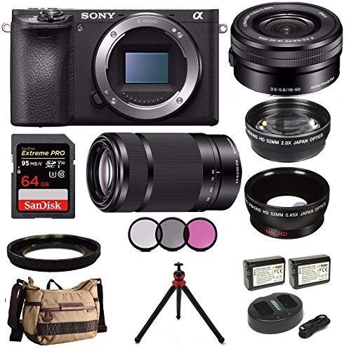 camara digital sony alpha a6500 digital camera w/sony selp16