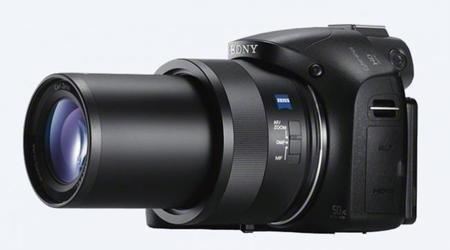 cámara digital sony compacta con zoom óptico de 50x
