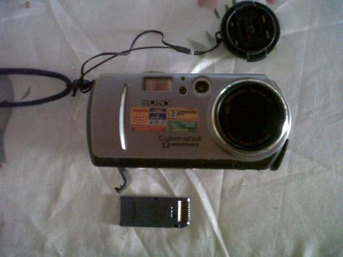 camara digital sony cyber-shot 1.3 megapixels con cargador