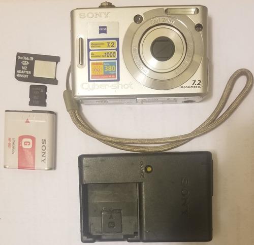 cámara digital sony cyber-shot w35