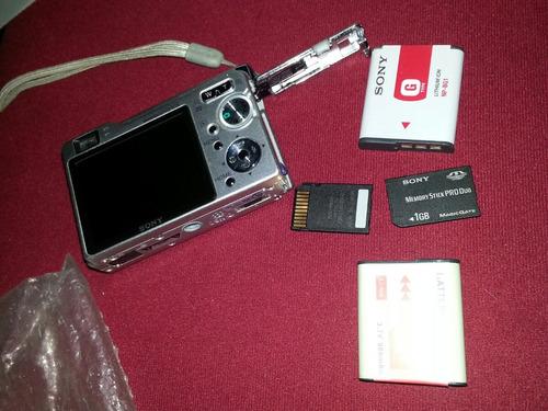 camara digital sony cybert shot 8.1 mp