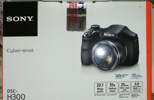 cámara digital sony dsc-h300