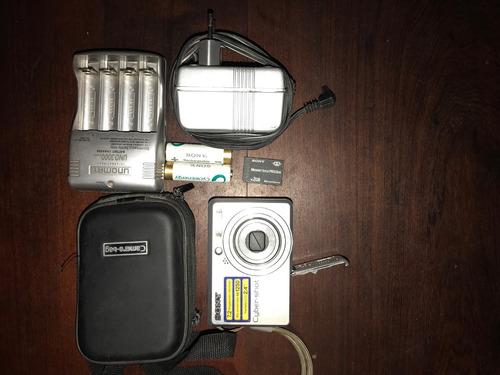cámara digital sony dsc-s730 7.2 megapixeles