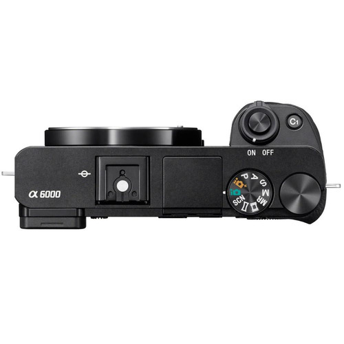 cámara digital sony ilce-6000l negra