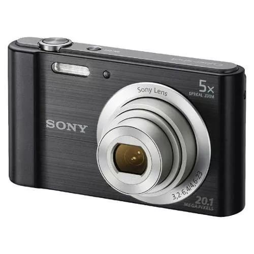 camara digital sony w800 20 megapixeles color negro nueva