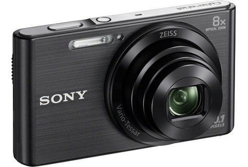 camara digital sony w830 20.1 mp 8x zoom hd garantia oficial