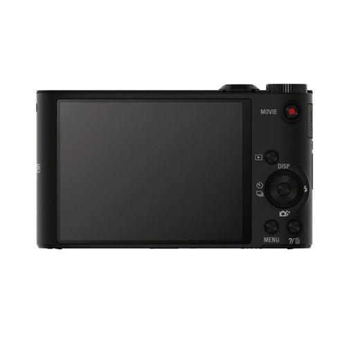 cámara digital sony wx350 wi-fi y zoom óptico 20x negra