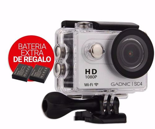 camara digital sumergible gadnic sc4 video 1080 hd deportiva