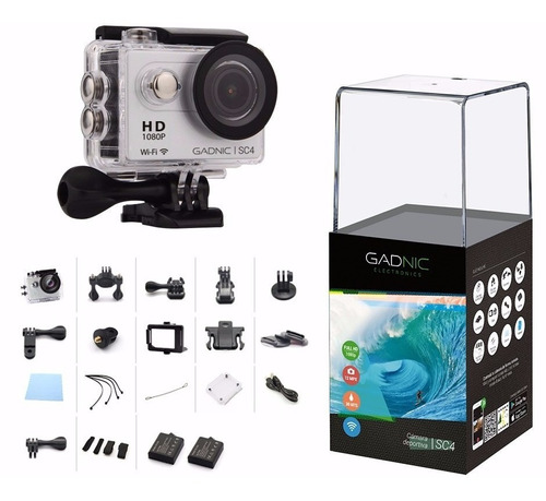 camara digital sumergible gadnic sc4 video 1080 hd deportiva