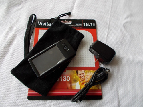 cámara digital táctil vivitar 16mpx hay q reparar el tactiil