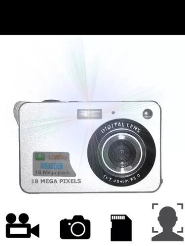 camara digital techcore 18 megapíxeles 8x zoom