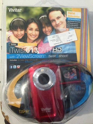 cámara digital vivitar itwist613dvr
