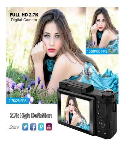 camara digital wifi 24 mpx gran angular recargable 2.7k uhd