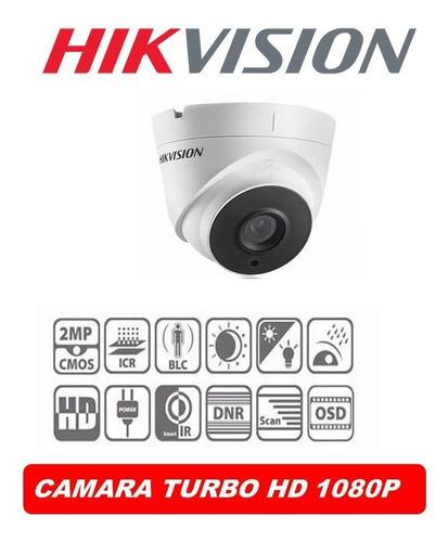 camara domo 1080p 2.8mm 2.0mpx hikvisiom fullhdsemimetalica