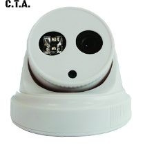 camara domo ahd 720p 1.3mpx 3.6mm 1 led array
