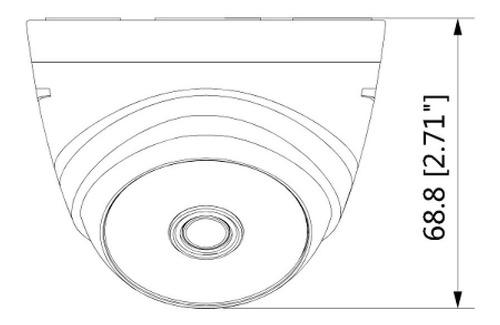 camara domo dahua cooper hdcvi 1080p 2mp  t1a2136