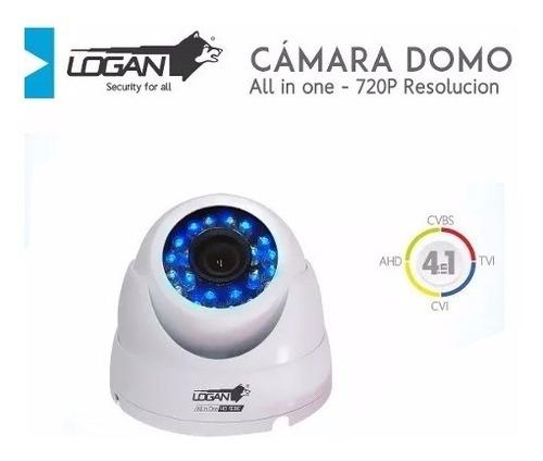 camara domo hd 720p 1 mpx seguridad all in one logan
