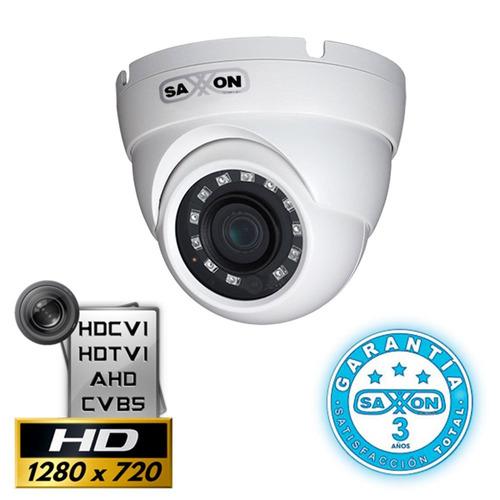 cámara domo hdcvi 1 mega pixel saxxon pro df2810tm