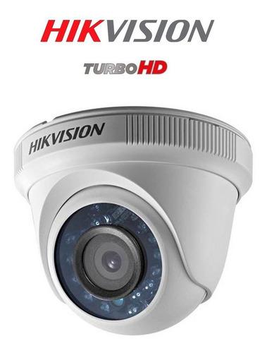 cámara domo hikvision turbo hd 1080p ds2ce56d0tirpf28
