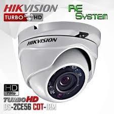 camara domo metálica hikvision turbo hd 20 metros de alcance