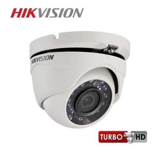 camara domo metalica hikvision turbo hd 2.8mm 1/4 24 leds