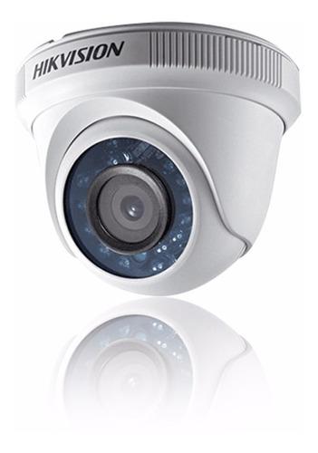 cámara domo plástica 1080p turbohd hikvision ds2ce56d0tirp28