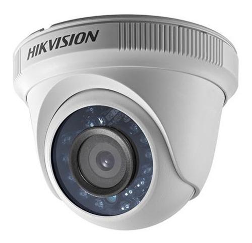 camara domo plastico 1080p hikvision full hd 2.0 mpx 2.8mm