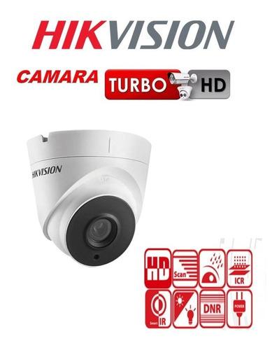 camara domo semi metal hikvision  720p lente 2.8mm 1 ir led
