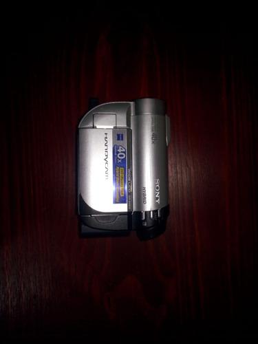 cámara dvd sony dcr-dvd610 - cámara de fotos + funda