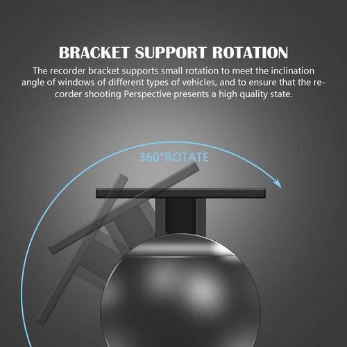 cámara dvr auto rotación 360 grados